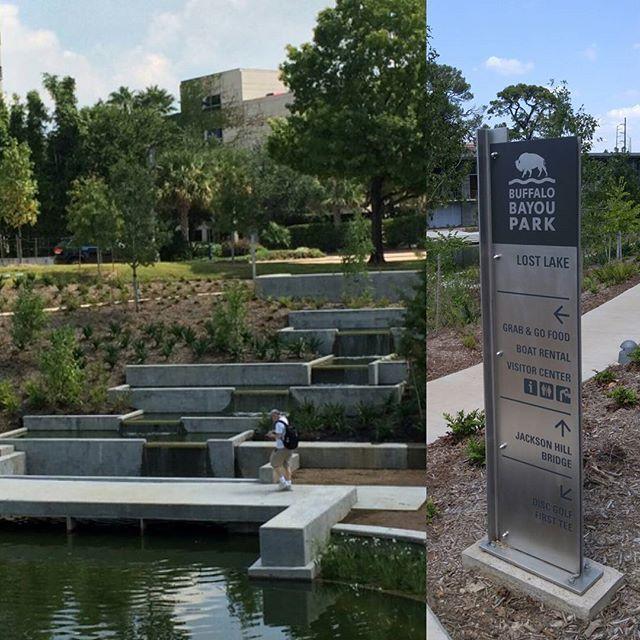 SnapWidget | Checking Out Lost Lake At Buffalo Bayou Park. #Houston Is  Doing So. Landscape ArchitectureBuffaloCool ...