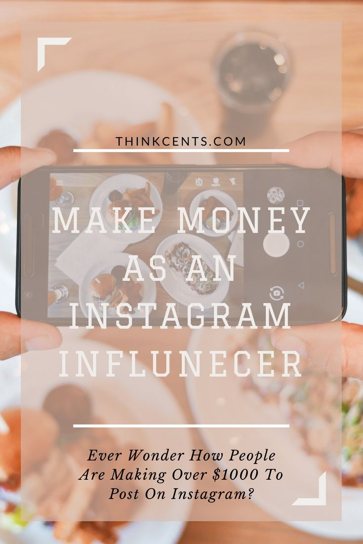 Like most bloggers and YouTubers, popular instagram influencers are social media magnets who have two things those big wealthy companies out there don't: reach and influence. It is exactly the reach and influence of others that will propel companies to pay you hundreds or thousands to talk about and promote their product.
