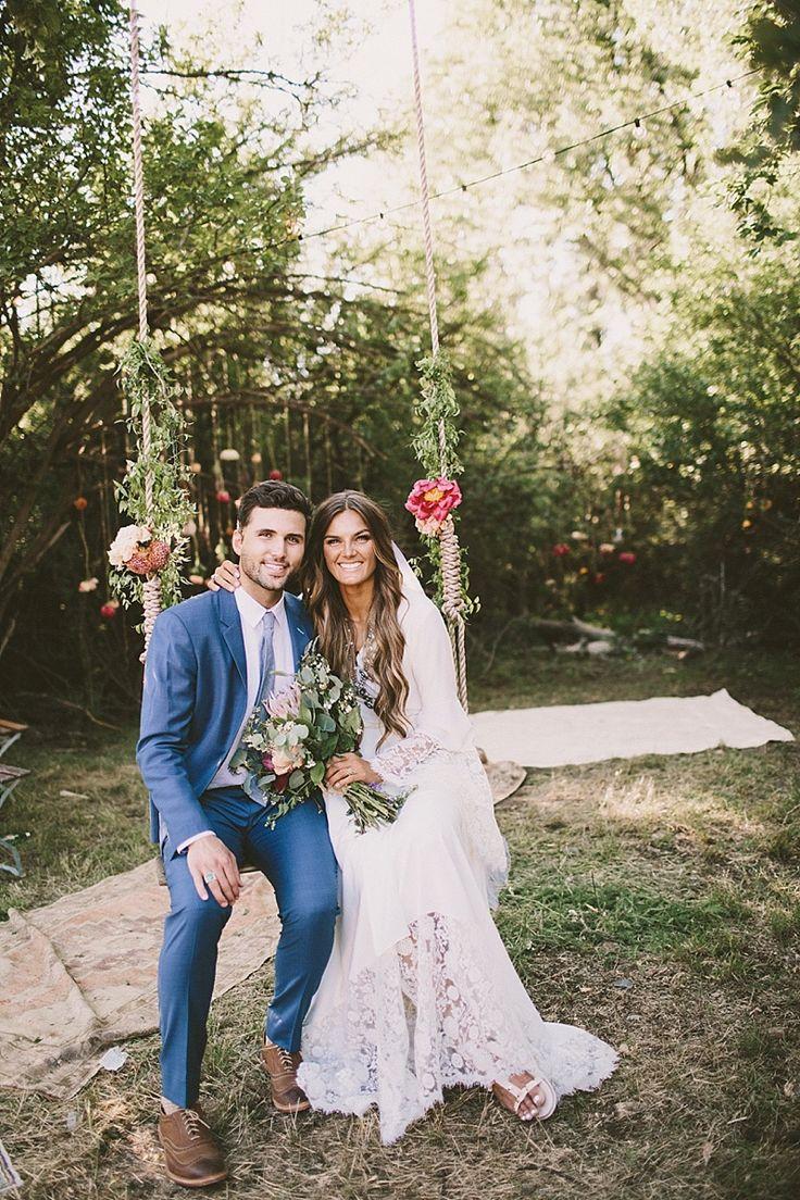 TESSA BARTON  Wedding in the Woods bohemian wedding