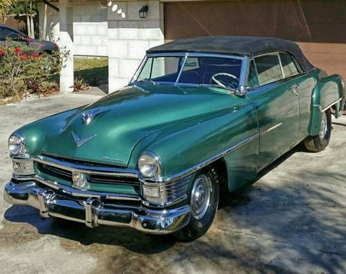 chrysler new yorker 2dr convertible for sale 1952 american iron pinterest cars chrysler. Black Bedroom Furniture Sets. Home Design Ideas