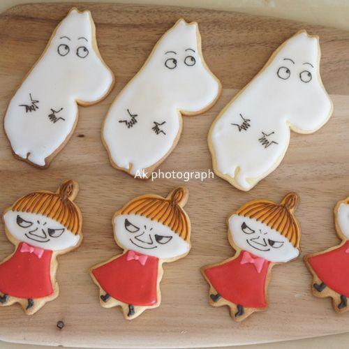 moomin & little my cookies