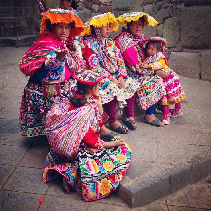 Mujeres de Cusco No.2 || Foto Anamaría Nieto