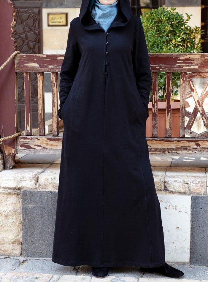SHUKR USA | Casual Hooded Abaya