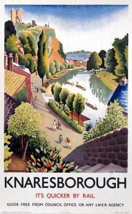 Knaresborough LNER poster