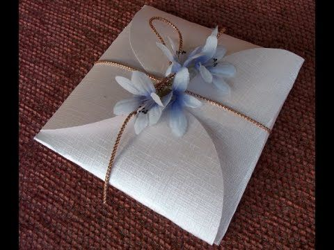 How to make a gift wrapping