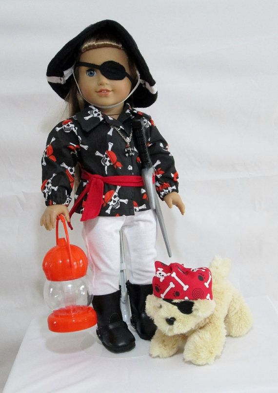 13 Best Images About 18 Doll Costumes Pirates Bad Guys