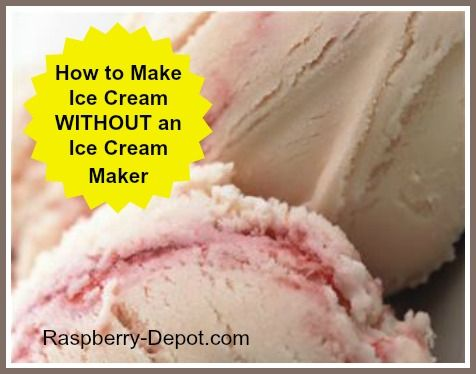 How to Make Homemade Ice Cream WITHOUT an Ice Cream Maker Machine! Instructions HERE.