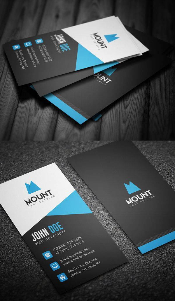 109 best Creative Business Cards images on Pinterest | Creative ...
