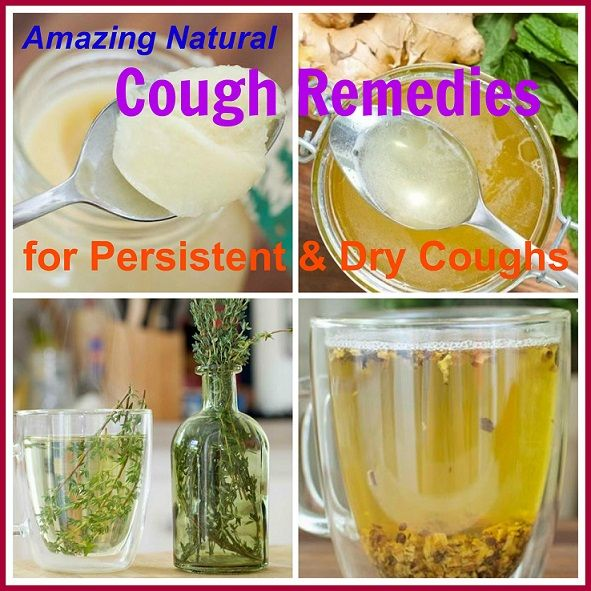 These natural cough remedies are proven effective and has no side effects unlike commercial drugs...