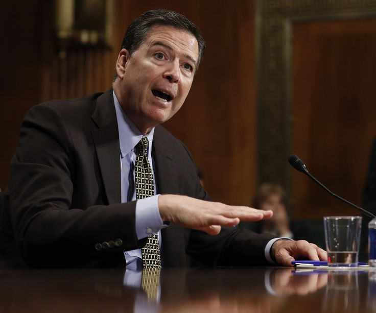 President Trump dismisses FBI Director Comey - Well, well, well!  We all knew this was coming as a means by which to CRIMINALLY INTERFERE WITH THE RUSSIAN INVESTIGATION!  Good going assholes, now OBSTRUCTION OF JUSTICE can be added to the looooooooooooooong list for IMPEACHMENT IN 2019!