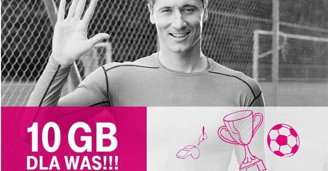 T-Mobile Polska daje 10 GB internetu za darmo z okazji awansu naszych piłkarzy.  Reprezentacja Polski awansowała do ćwierćfinałów Euro 2016. #internet #t-mobile #euro2016 http://dodawisko.pl/8935-t-mobile-daje-10-gb-internetu-za-darmo.html