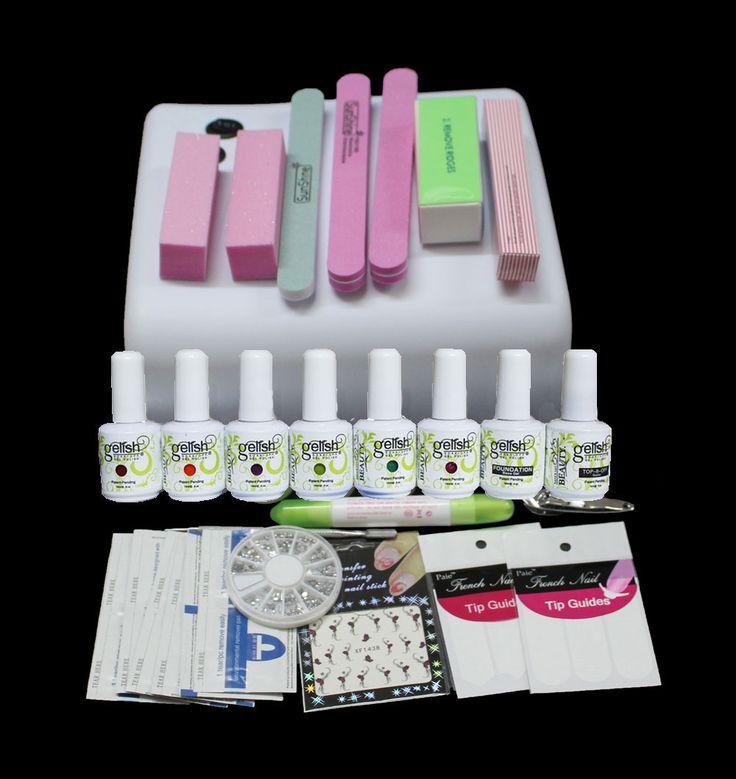 (44.30$)  Buy here  - BTT-73  uv gel nail polish kit ,kit gel nail polish kit ,uv kit manicure with uv  lamp,uv nail polish gel  at free shipping