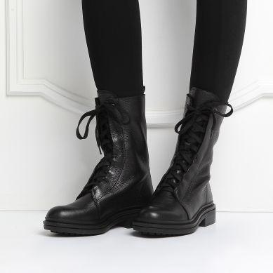Ботинки CALVIN KLEIN FIONA ЧЕРНЫЙ распродажа в интернет-магазине Rendez-Vous.ru…