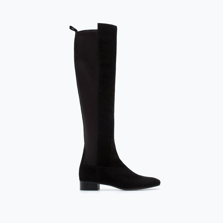 STRETCH LEATHER BOOT-Boots-Shoes-WOMAN | ZARA United States