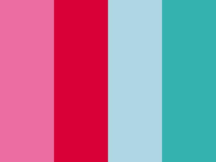 チェリーピンク|カーマイン|ベビーブルー|ナイルブルー