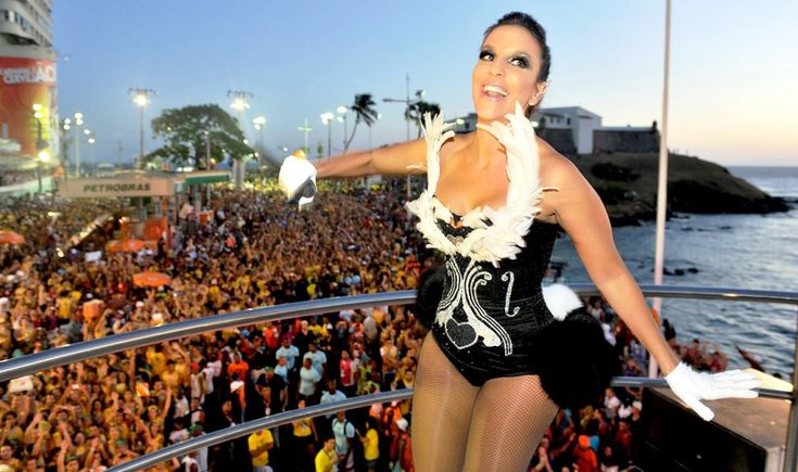 Carnaval Salvador Bahia, The Biggest Street Party in the World features moving stages called - Trio Eletricos