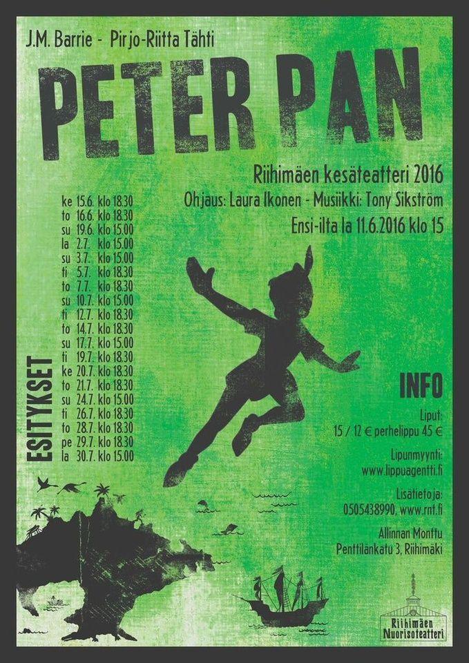 Riihimäen Nuorisoteatteri - Peter Pan