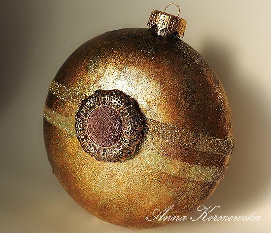 Stonogi.pl - блог магазин: Рождественские украшения в золоте