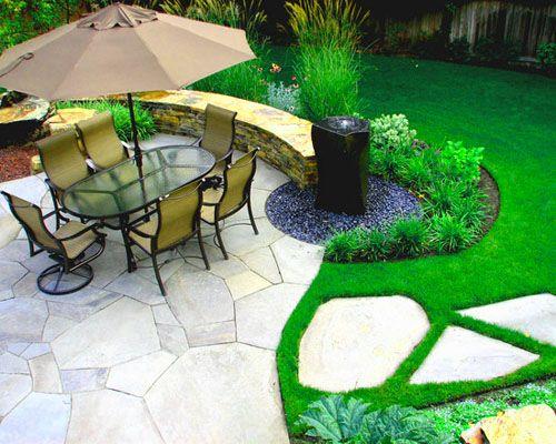 contemporary garden design decorating ideas Small Garden Design Ideas