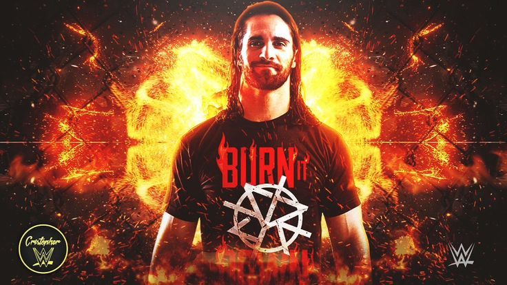 "Seth Rollins 7th WWE Theme Song - ""The Second Coming"" (""Burn It Down"")"