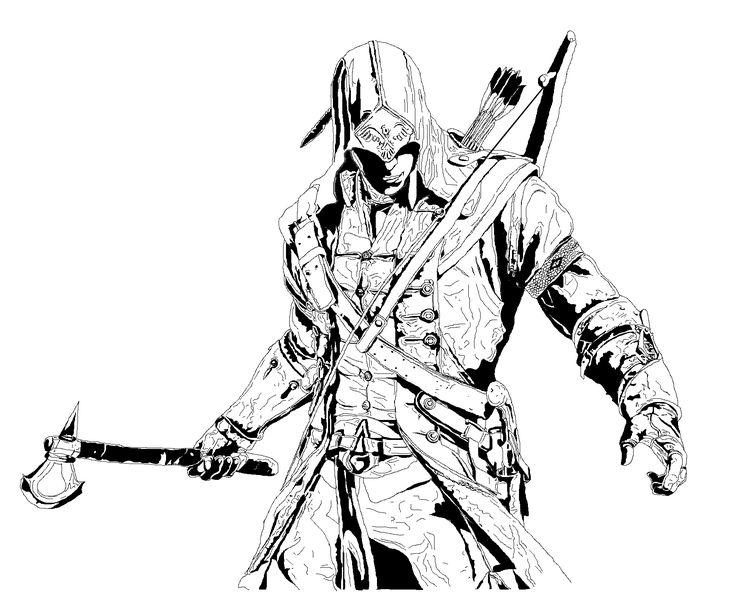 Les 147 Meilleures Images Du Tableau Coloriage Assassin S