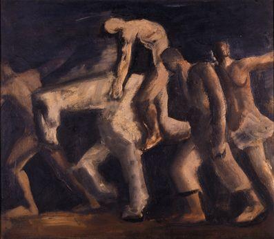 Mario Sironi - Emigrantes 1930