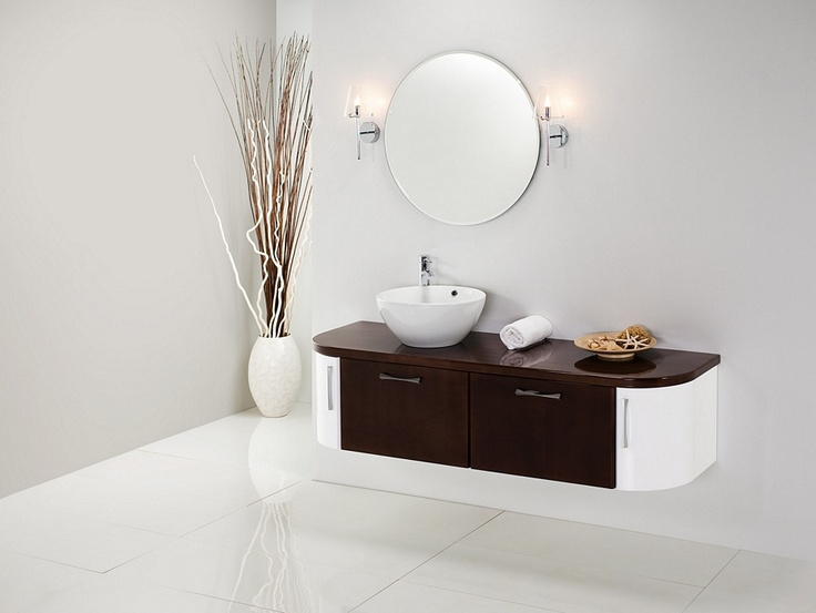 Antado Linea Blanca collection - wooden bathroom furniture / łazienka #bathroom #furniture #wood #washbasin