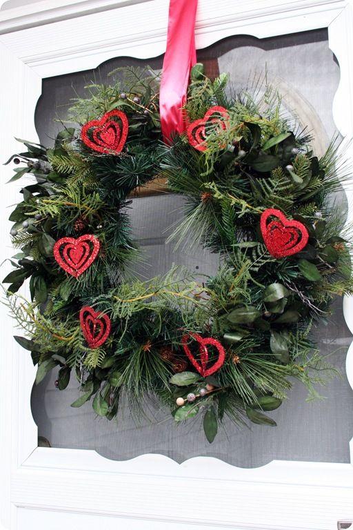17 Best Images About Valentine Wreaths On Pinterest