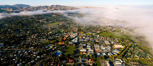 Aerial view of Havelock North