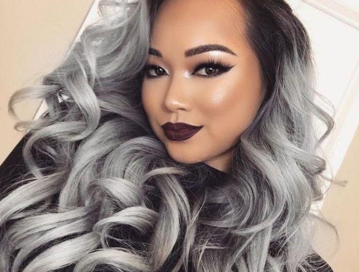 Färben graue haare ansatz Graue Haare