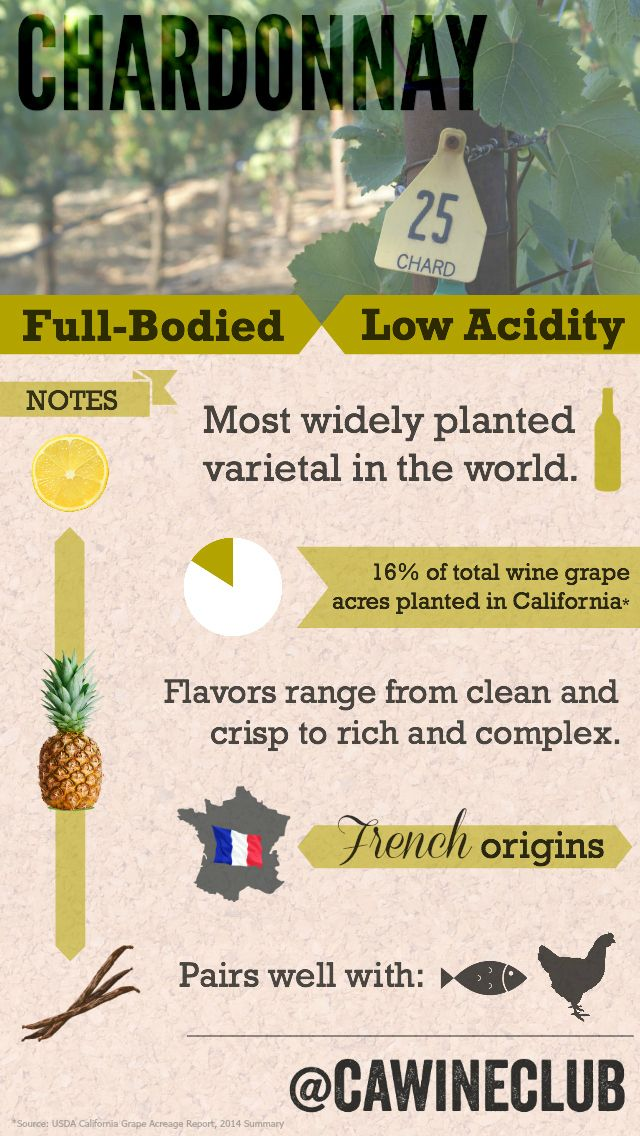 Here are all the things you need to know about Chardonnay
