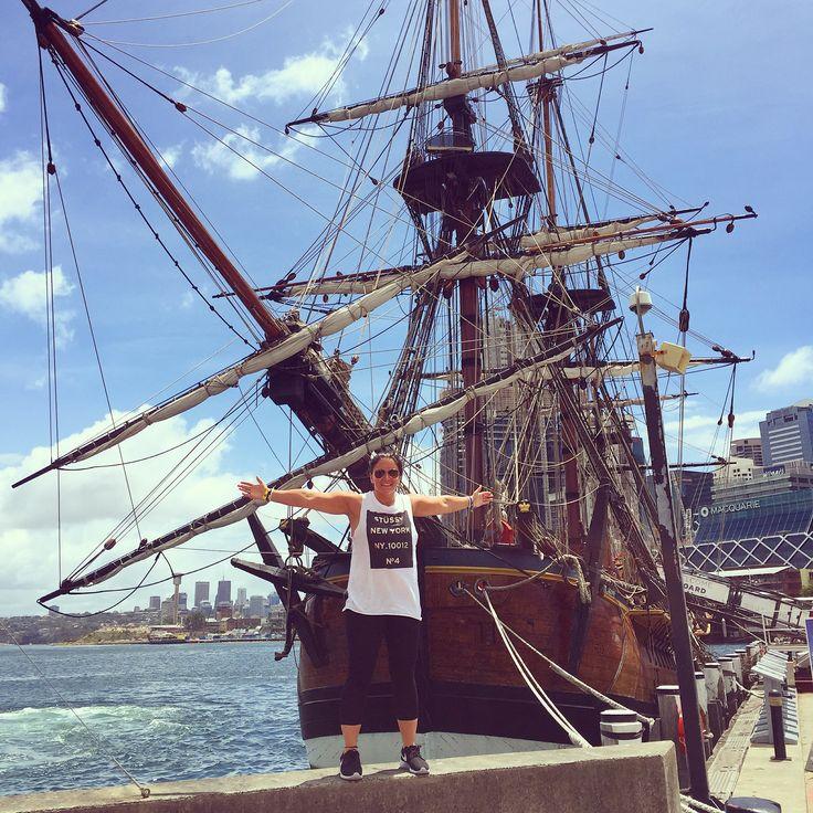 Captain Cooks Ship- The Endeavour 🚢🇦🇺✅
