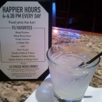 Can't beat $3.50 fresh squeezed grapefruit and Stoli. Bonefish Grill Happy Hour