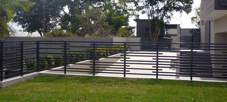 Aluminium Tubular Balustrade Fencing Landscape Design