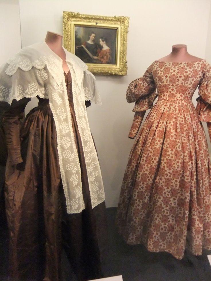 pereline 1830 | Pelerine (collar), Scotland, 1830-35 Day dress, silk, England, 1830 ...