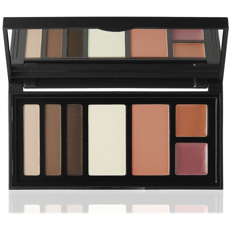 NEW: Perfect Face Palette - Everything you need in one easy palette: 3 eyeshadows, 2 lips, 1 blush, 1 highlighter. This is Nude.