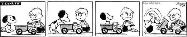 April 27, 1954 - Schroeder, Ordinary Kid