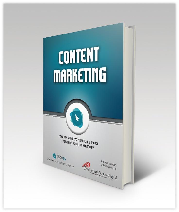 """#Ebook - """"Content Marketing"""" - kliknij w okładkę żeby pobrać."""