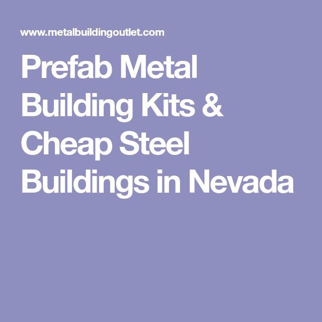 Prefab Metal Building Kits & Cheap Steel Buildings in Nevada