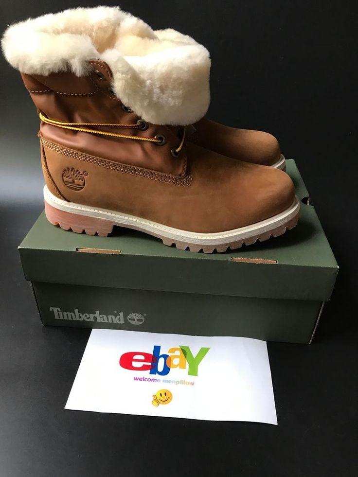 Timberland Premium Nubuck 16036 Boot Waterproof Boots Wheat Plus Velvet #Timberland #SnowWinter