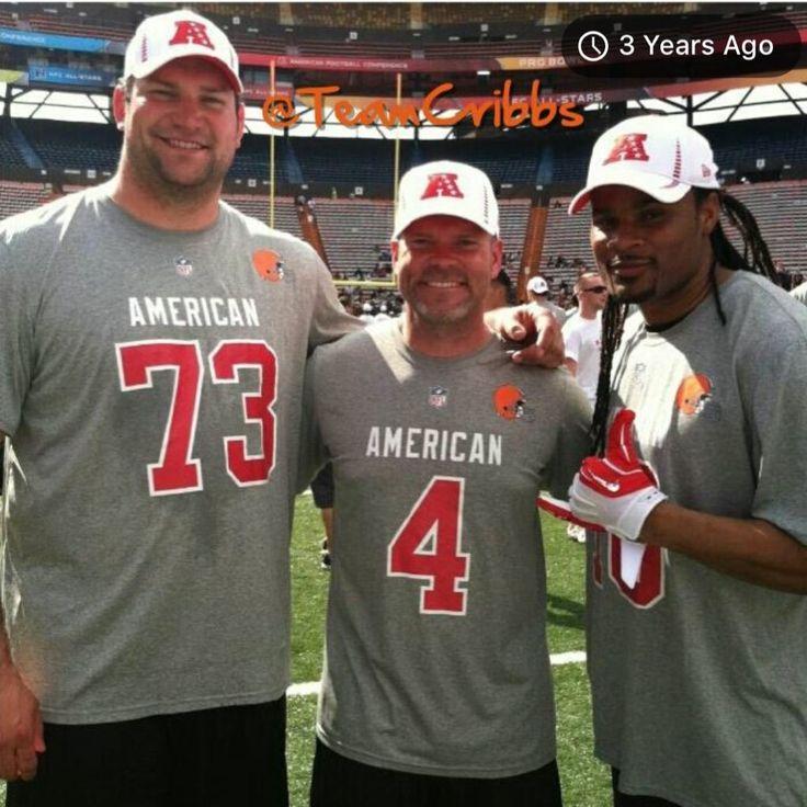 2012 Pro Bowlers Joe Thomas, Phil Dawson, Josh Cribbs
