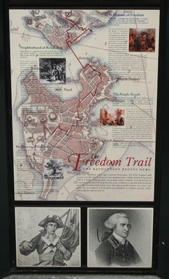 The Freedom Trail Walking Tour: A Walking Tour of the Historic Freedom Trail in Boston