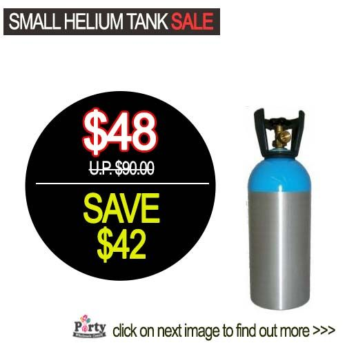 Helium Tank Rental at Warehouse Price!