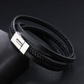 Man Cowhide Bracelet & Bangle