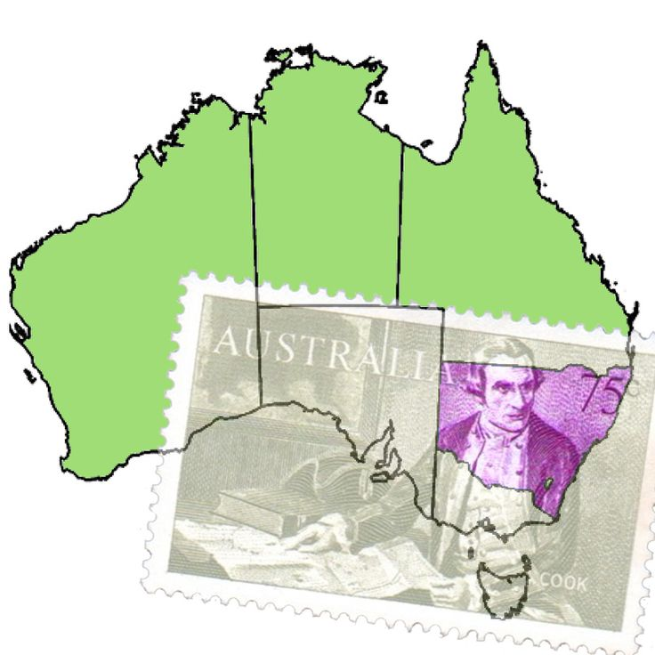 James Cook claims eastern Australia, naming it New South Wales, for Great Britain on 21 August 1770. http://www.zeboose.com