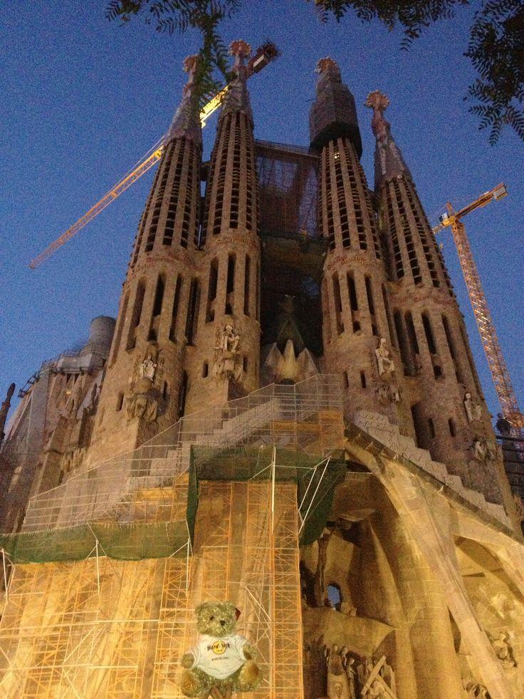 Visiting the Sagrada Familia
