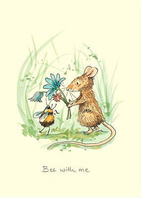 Maus und Biene
