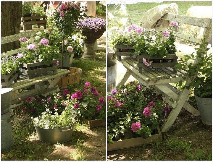 planting crates flea market garden ideas pinterest