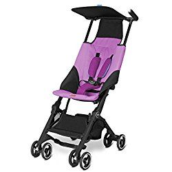 gb Pockit Stroller, Posh Pink, 9.5 Pounds