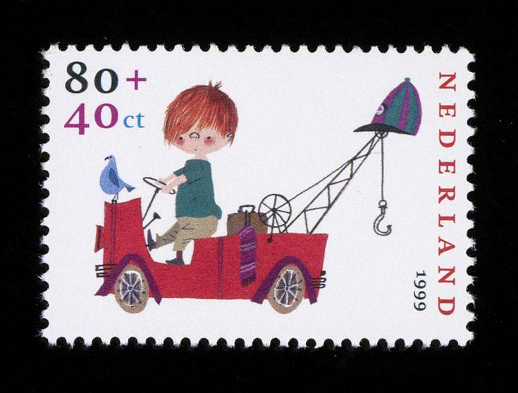 Pluk van de Petteflet kinderpostzegel 1999